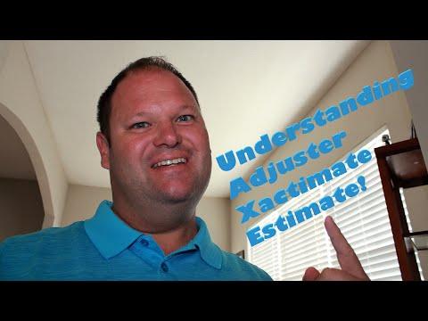 Insurance Claims Understanding Adjuster Xactimate Estimate