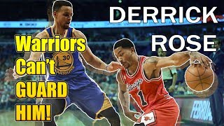 THEY CANT GUARD HIM! Derrick Rose Best Plays vs Golden State Warriors HD