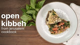 OPEN KIBBEH by Yotam Ottolenghi and Sami Tamimi  | From Jerusalem Cookbook