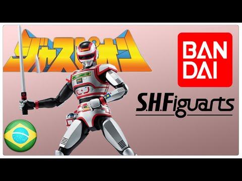 12# Jaspion S.H. Figuarts Bandai Unboxing PT/BR HD