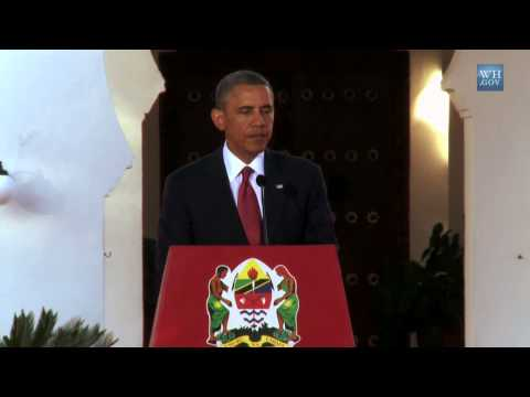 President Obama and President Kikwete Hold a Press Conference