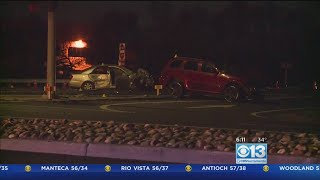 Highway 12 Closed In Fairfield Due To Major Crash