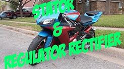 2003 Yamaha R1 - Replaceing the Stator and Regulator Rectifier