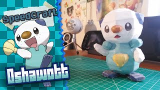 Pokemon Papercraft ~Oshawott~