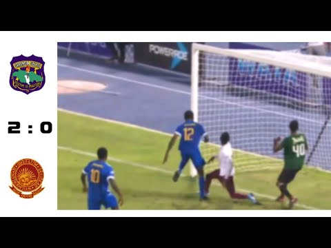 Clarendon College Vs Wolmer's Boys - 2:0 - Champion Cup - Highlights - 11/01/2019