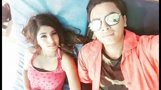 Paul Shah and Aanchal Sharma Dating in beach/पल र आँचलको समुन्द्रमा डेटिङ