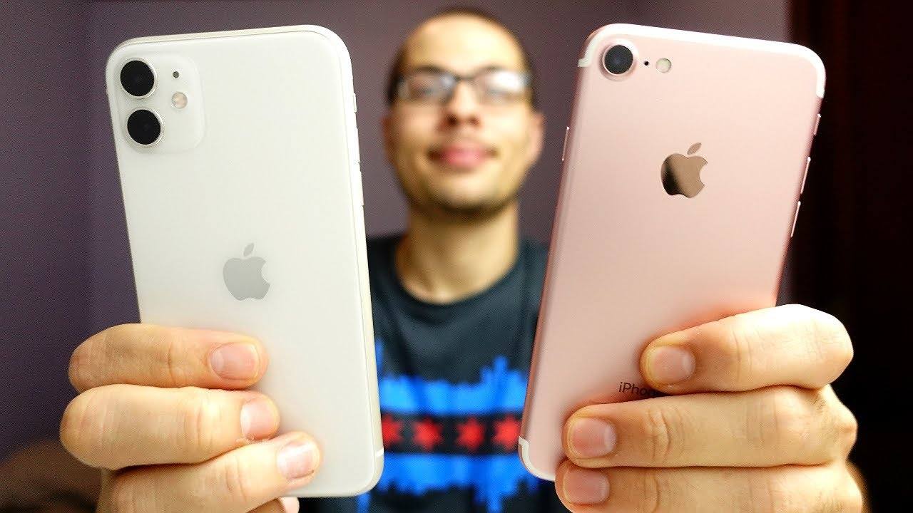 iPhone 7 vs iPhone 11 Speed Test!