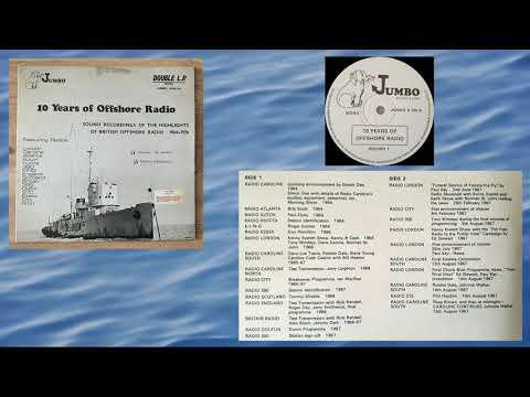 10 Years of Offshore Radio: 1974 Jumbo Records Mono Double LP FULL ALBUM