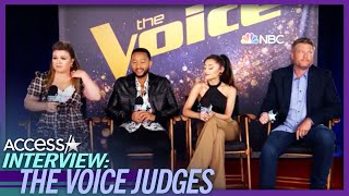 Blake Shelton Fell For Ariana Grande's Puppy Dog Eyes On 'The Voice'