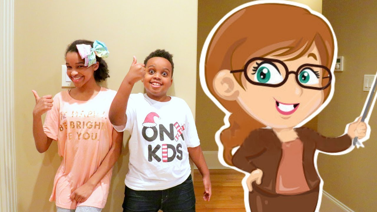 6e782e07 Shiloh and Shasha GO BACK TO SCHOOL! - Onyx Kids - YouTube