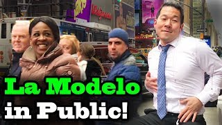OZUNA x CARDI B - 'La Modelo' - SINGING IN PUBLIC!!