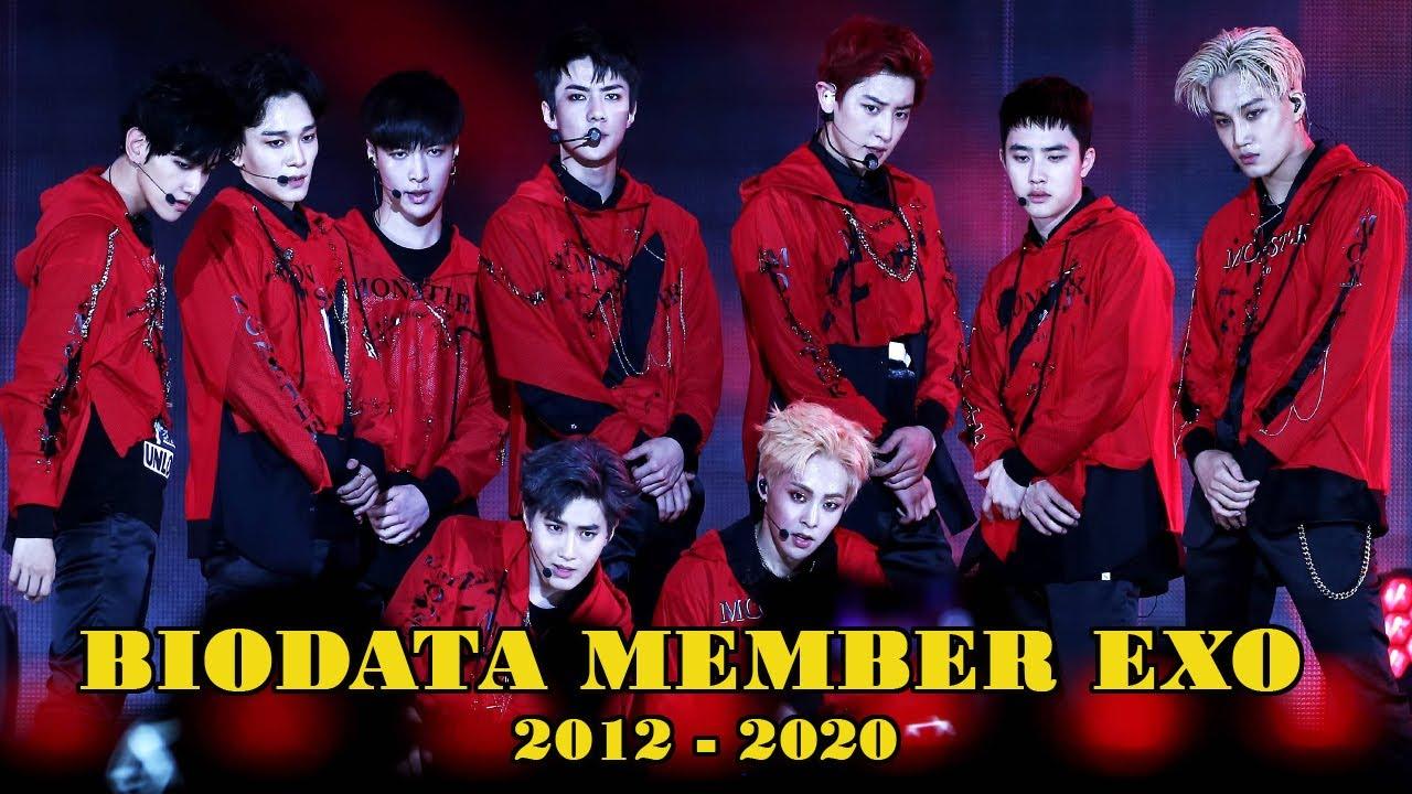 Biodata Profile Lengkap dengan Agama Exo 2012-2020 - YouTube