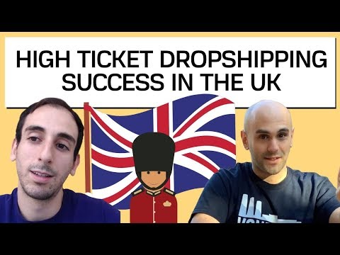 High Ticket Dropshipping In UK SUCCESS - Interview With Will