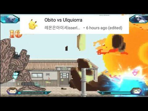 Obito vs Ulquiorra - #bvnrequest - Bleach vs Naruto 3.2