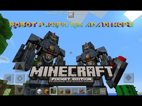 Robot Pacific Rim ada di Minecraft PE - Minecraft PE (Pocket Edition) Indonesia