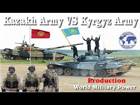 Kazakhstan VS Kyrgyzstan Military Power Comparison 2017 - 2018