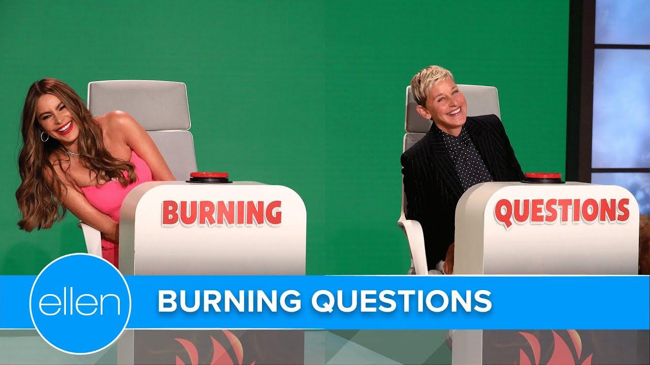 Download Sofía Vergara Answers Ellen's 'Burning Questions'