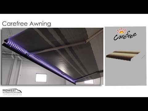 Carefree Awning Deployment & Operation - YouTube