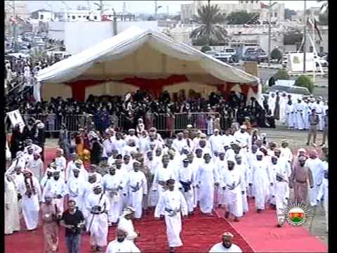 Oman   folk festival in Wilayat Dibba on the occasion to welcome HM Sultan Qaboos 29 10 2012