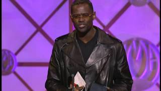 Brian McKnight Wins Soul/R&B Male - AMA 2001