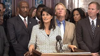Nikki Haley is Outraged Over Rumors Claiming She had Affair With President Trump thumbnail