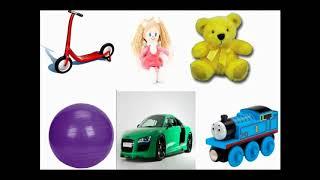 Детская песня Учим цвета и игрушки на английском языке Toys Song