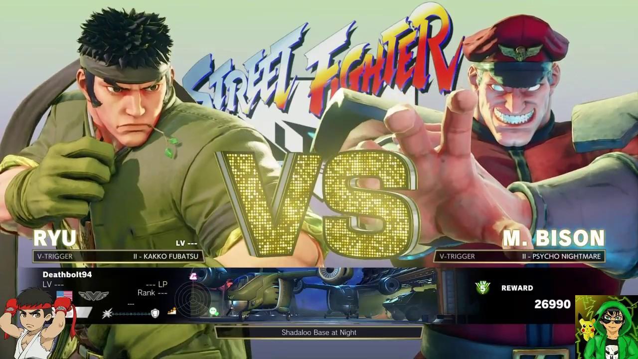 Street Fighter 5 Arcade Edition Sf Alpha Ryu Arcade