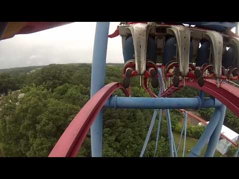 Superman Ultimate Flight POV Six Flags Over Georgia