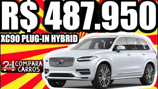 R$ 487.950 VISITA RÁPIDA Volvo XC90 Recharge Inscription Plug-in Hybrid T8 aro 21 AWD 2.0T 407 cv
