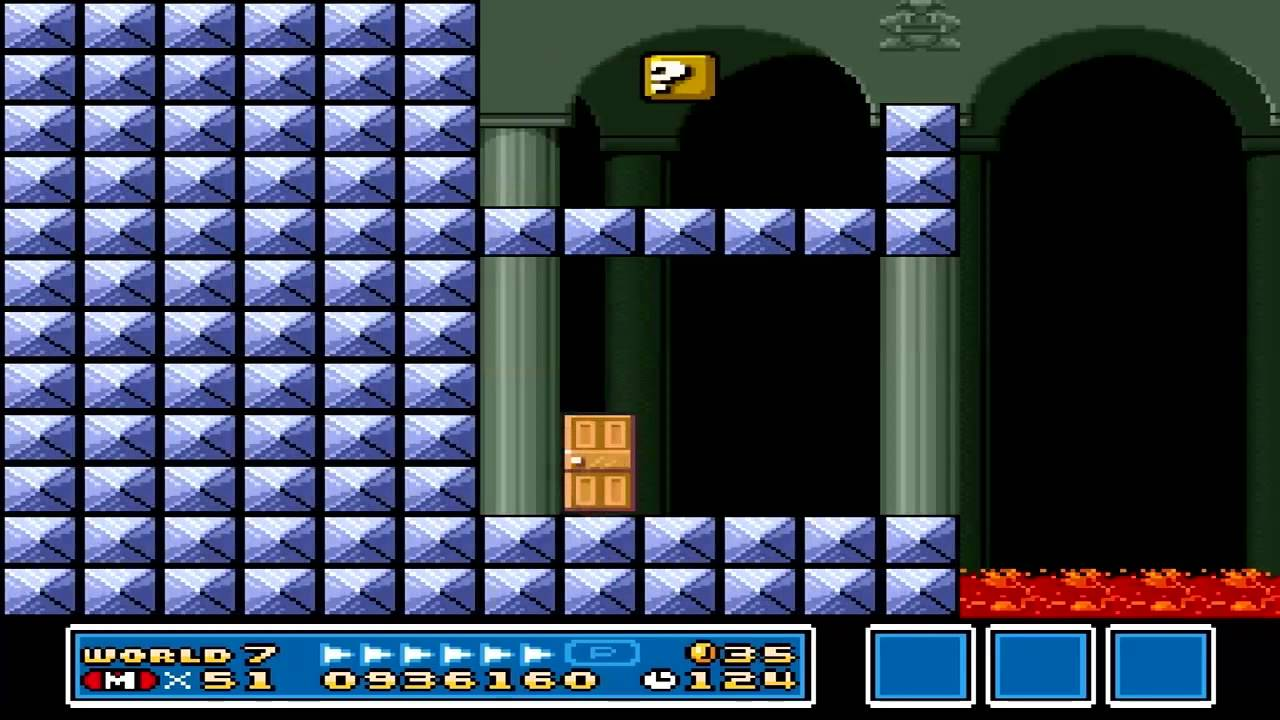 Super Mario Bros 3 World 7 Fortress 1