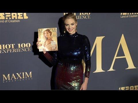 Kate Upton 2018 Maxim Hot 100 Experience