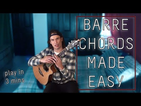 Do you Need BARRE CHORDS??