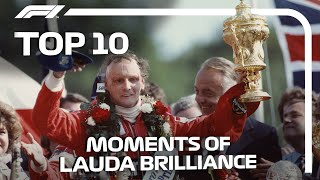 Top 10 Moments of Niki Lauda Brilliance