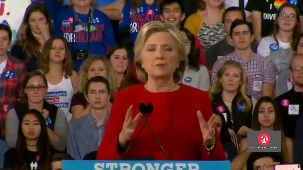 Download FULL SPEECH  Hillary Clinton FINAL RALLY in Raleigh, North Carolina 11 7 2016