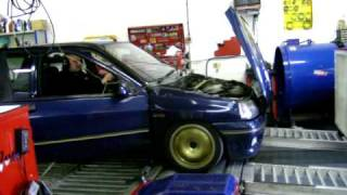 Clio Williams Dyno test at Torque of the Devil