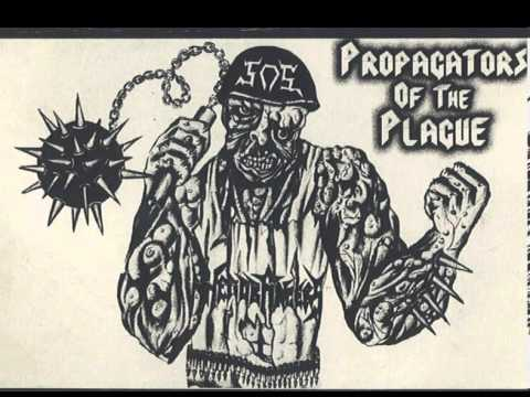 SOS - Violence! Split With Headbangers PROPAGATORS OF THE PLAGUE