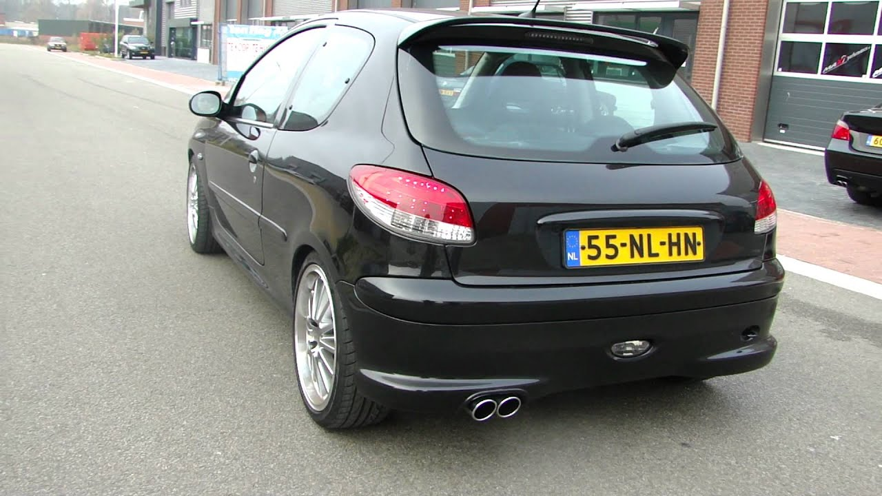 Peugeot 206 2 0 Rc Performance Exhaust System By