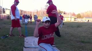 Baseball Sliding Drill