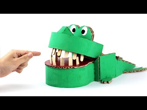 How to Make Crocodile Dentist Game for Kids - Just5mins