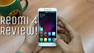 Redmi 4 Review 3GB RAM & 32GB ROM - Best phone under 9000 Rupees! (July 2017)