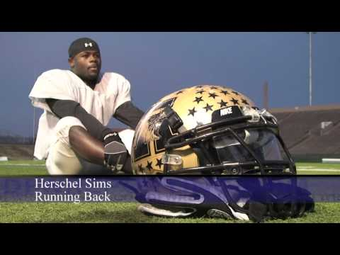 Exclusive video: Abilene football running back Herschel Sims [HD]