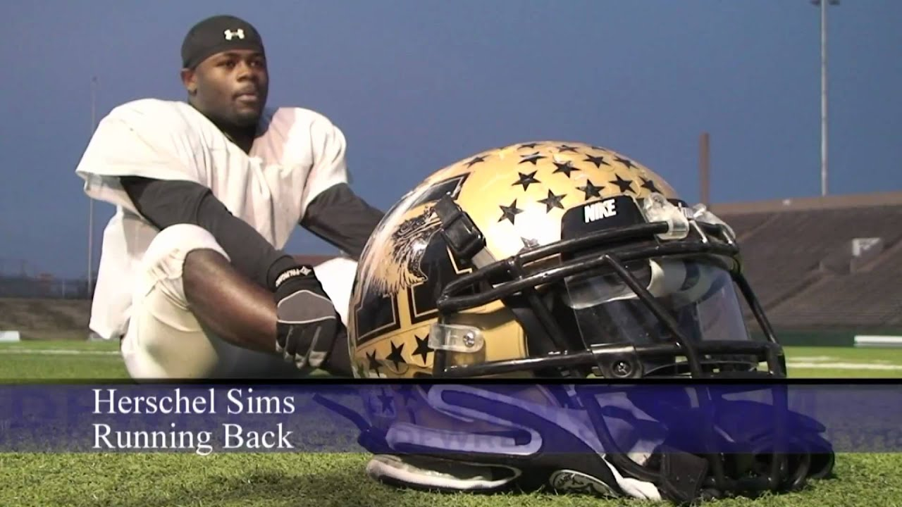 Exclusive Video Abilene Football Running Back Herschel Sims Hd