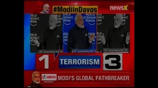 WEF 2018: PM Modi delivers plenary address in Davos, spoke about terrorism & shrinking globalisation