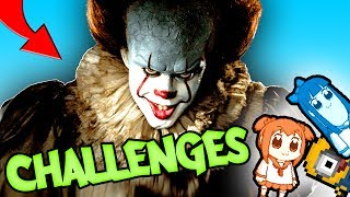 Can Pennywise Complete 3 GAMING CHALLENGES?