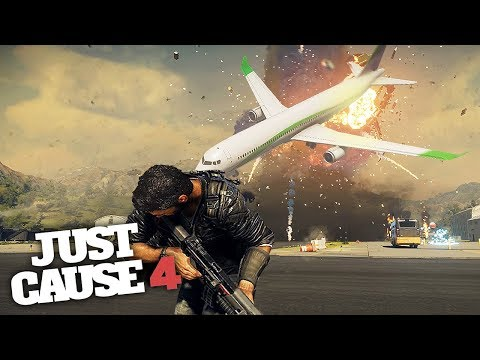 TORNADO AIRPORT CHAOS & DESTRUCTION! - Just Cause 4 Gameplay!