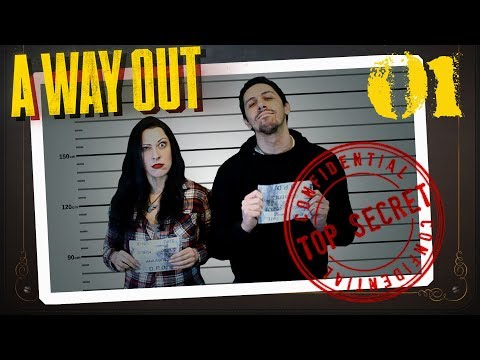 A WAY OUT Walkthrough Part 1 - COUCH COOP FTW
