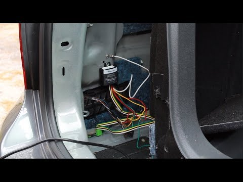Jetta Sportwagen Trailer Wiring Install Kit - Adapt Trailer Wiring to Car  Harness - YouTube