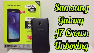 Straight Talk Phones - Samsung Galaxy J7 Crown Unboxing & First Impressions!!!