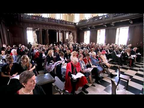 University of Cambridge Honorary Degrees 2009