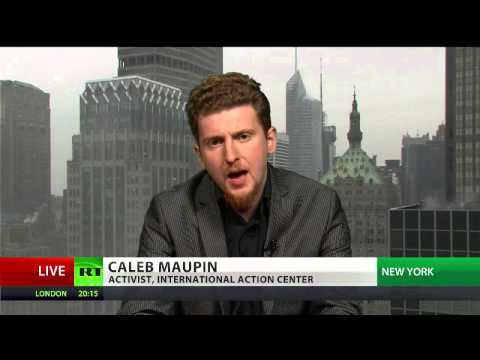 Caleb Maupin exclusive RT TV interview